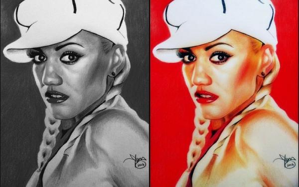 Gwen Stefani by yamilaalmara